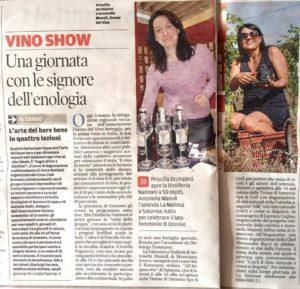 Festa delle Donne del Vino Distilleria Nannoni