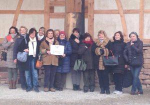 Donne del vino friulane in Alsazia