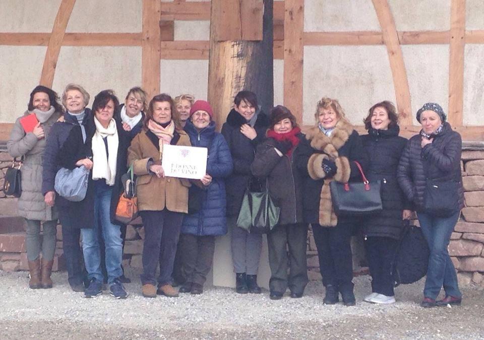 Donne del vino in viaggio