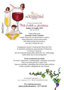 festa d'estate in distilleria Invito 16 luglio
