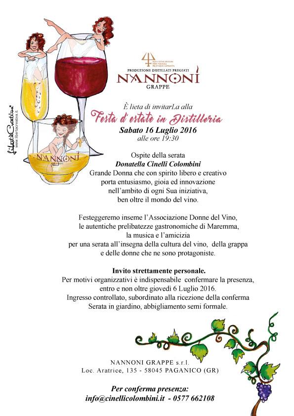 Le Donne del vino alla festa d'estate