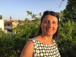 Antonella Manuli della fattoria La Maliosa