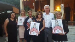 Il Sindaco di Borgio Verezzi, Renato Dacquino e le Donne del Vino