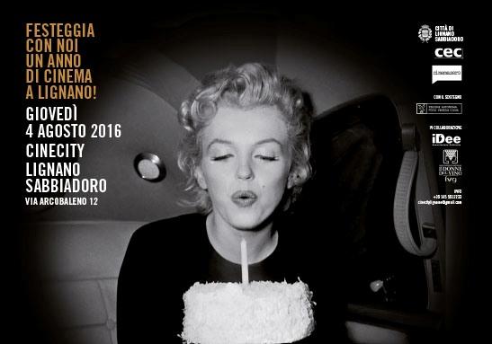 Omaggio a Marilyn Monroe a Lignano Sabbiadoro