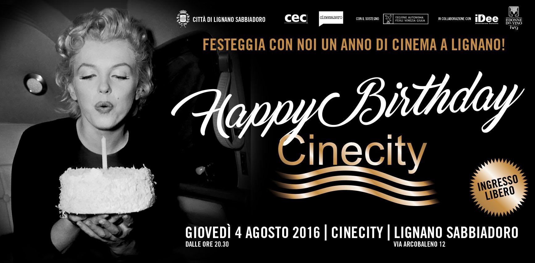 Festa a Lignano Sabbiadoro in onore di Marilyn Monroe