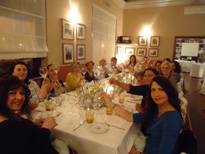 Le donne del vino della Campania brindano al ristorante Oasis Antichi Sapori