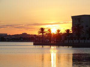Tunisia, il lago di Tunisi
