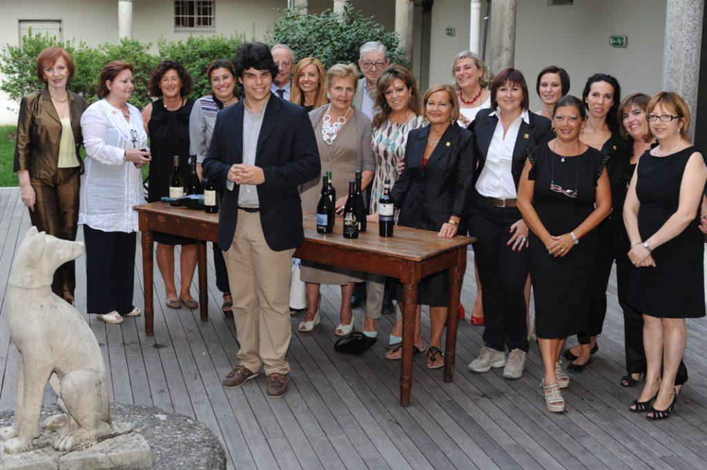 Andrea Battisoni è Uomo dell'Anno 2012 per le Donne del Vino
