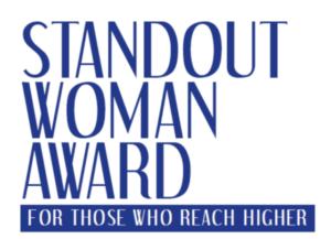 Premio Standout Woman Award 2016