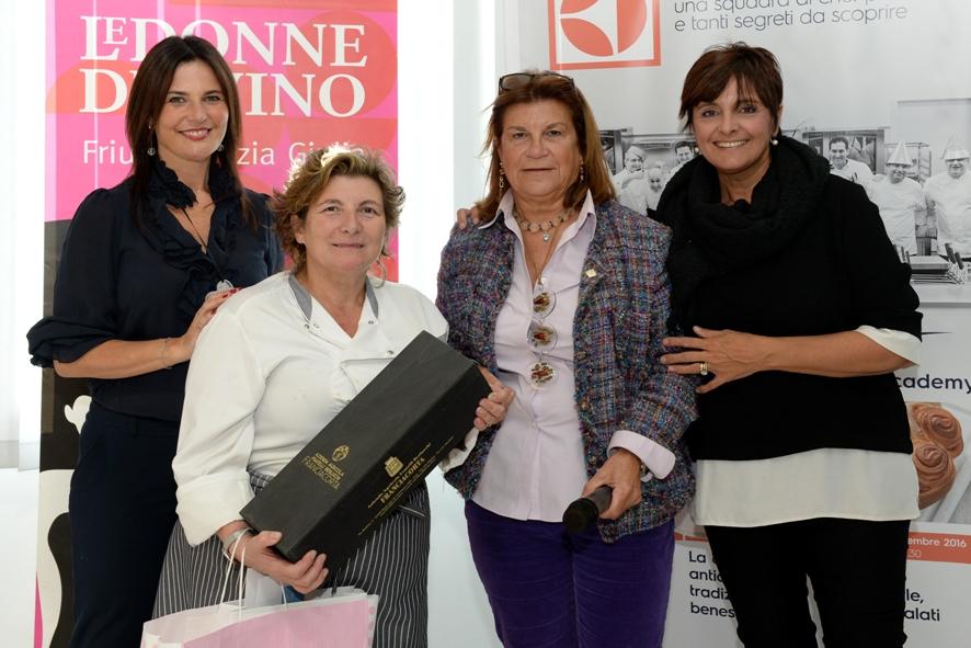 Donne del vino chef in gara, vince Silvia delle Case