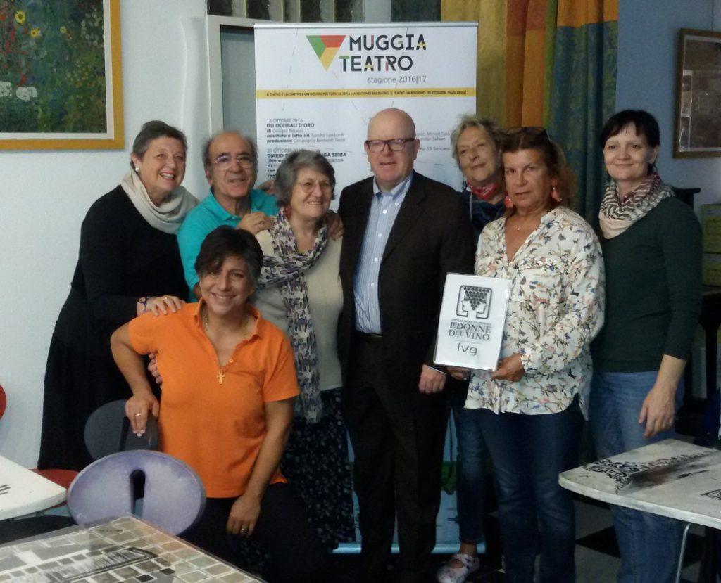 Le Donne del Vino del Friuli Venezia Giulia al Teatro di Mugggia
