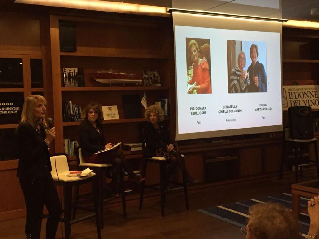 Cinzia Tosetti racconta le Donne del Vino Associazione Nazionale