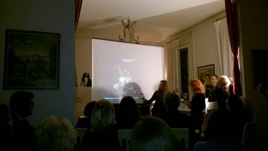 Camilla Giuggi all'incontro Dipinto diVino