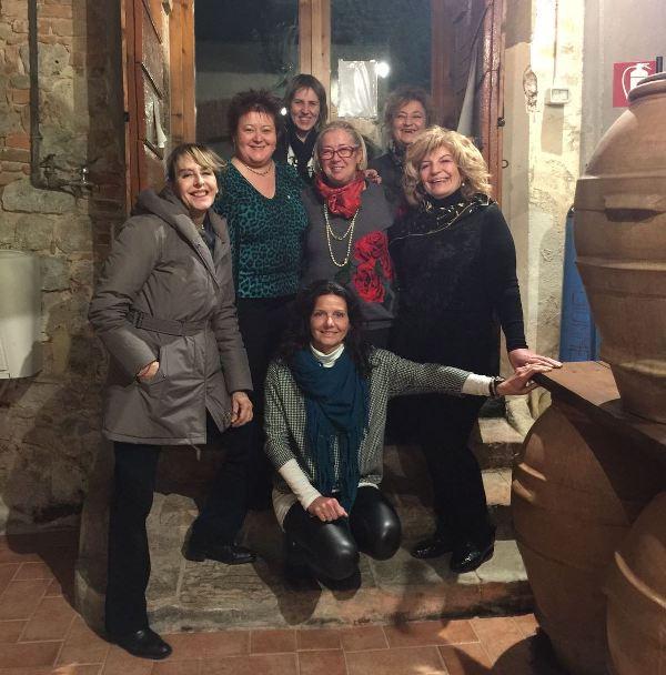 Il tour in Toscana delle donne del vino del Friuli