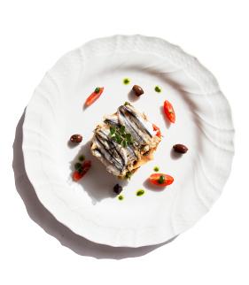 Liguria in tavola: Bagnun di acciughe