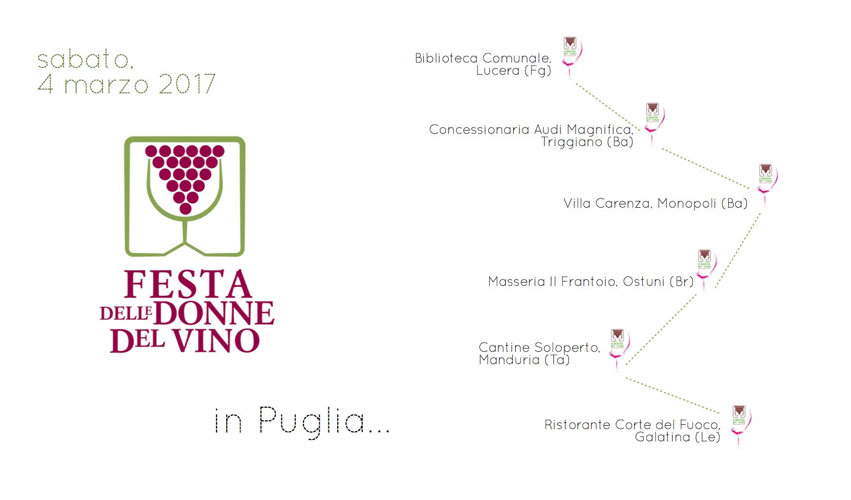Festa delle Donne del vino 2017 in Puglia