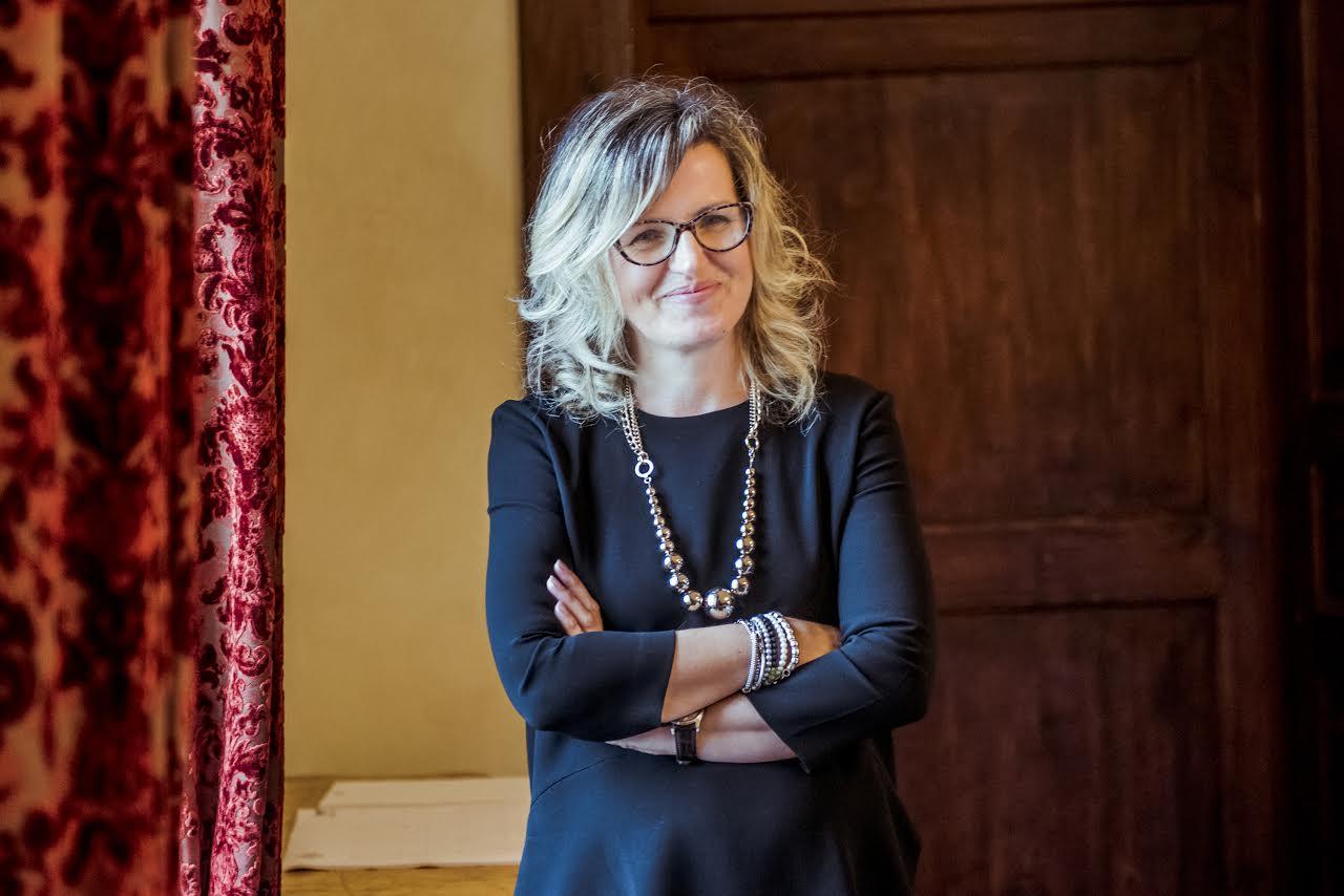 Marina Cvetic dell'azienda Masciarelli