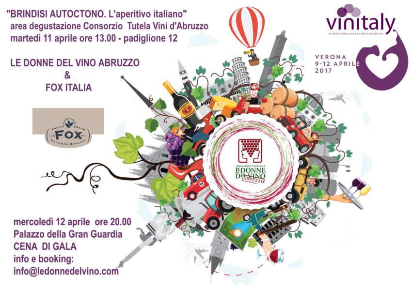Vinitaly 2017 Donne del Vino e Brindisi autoctono Fox Italia