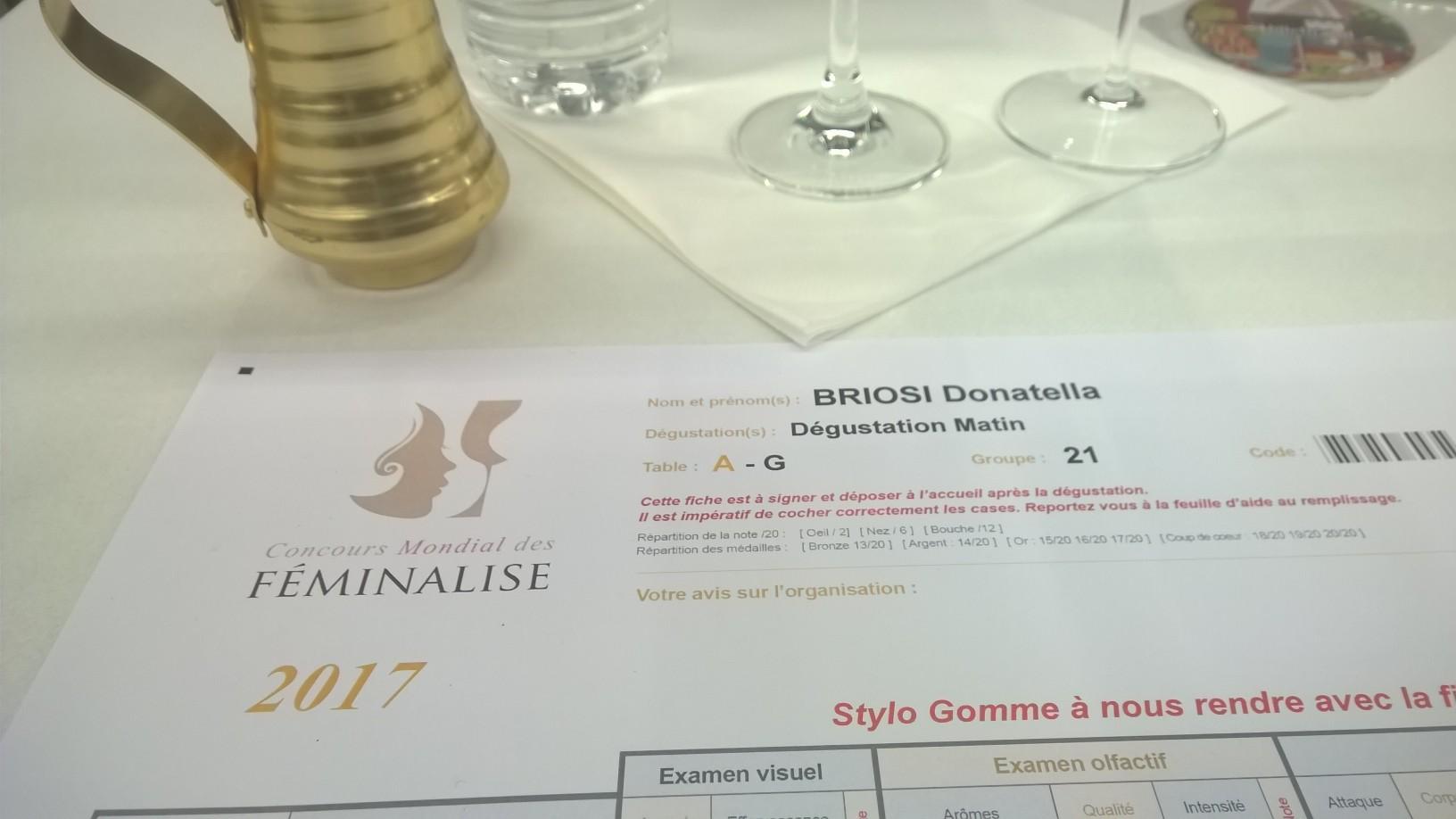 Francia: le Donne del Vino italiane al concorso Féminalise