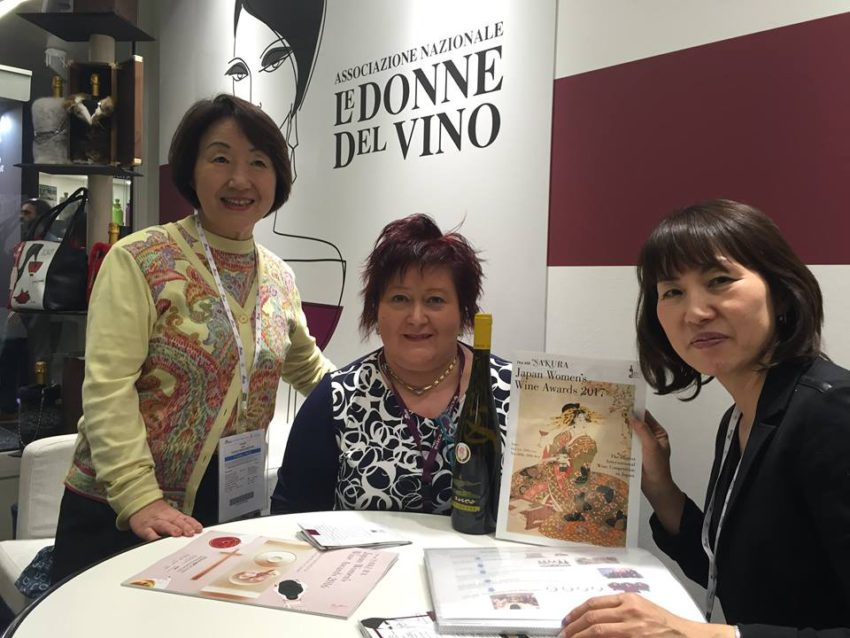 Le Donne del vino win hands down at Sakura
