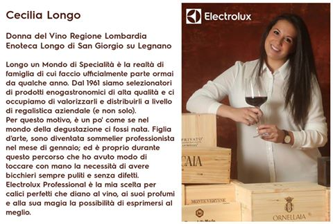 """Electrolux Professional e Le Donne del vino: una partnership """"in rosa"""""""