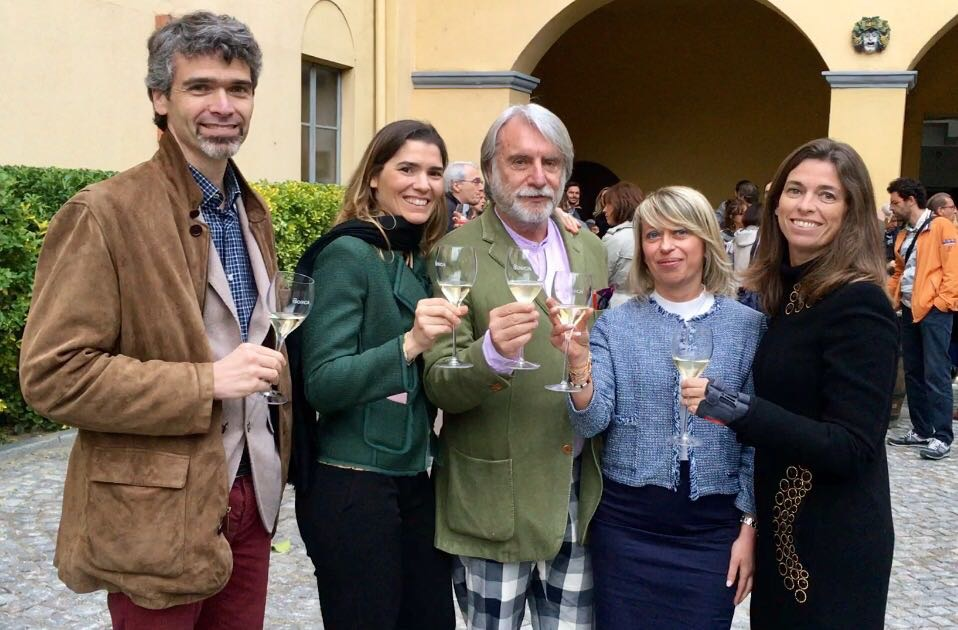 Paolo Crepet in Piemonte in cantina