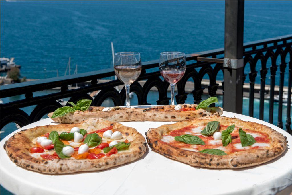 Sorrento Rosé: pizza e vini rosati