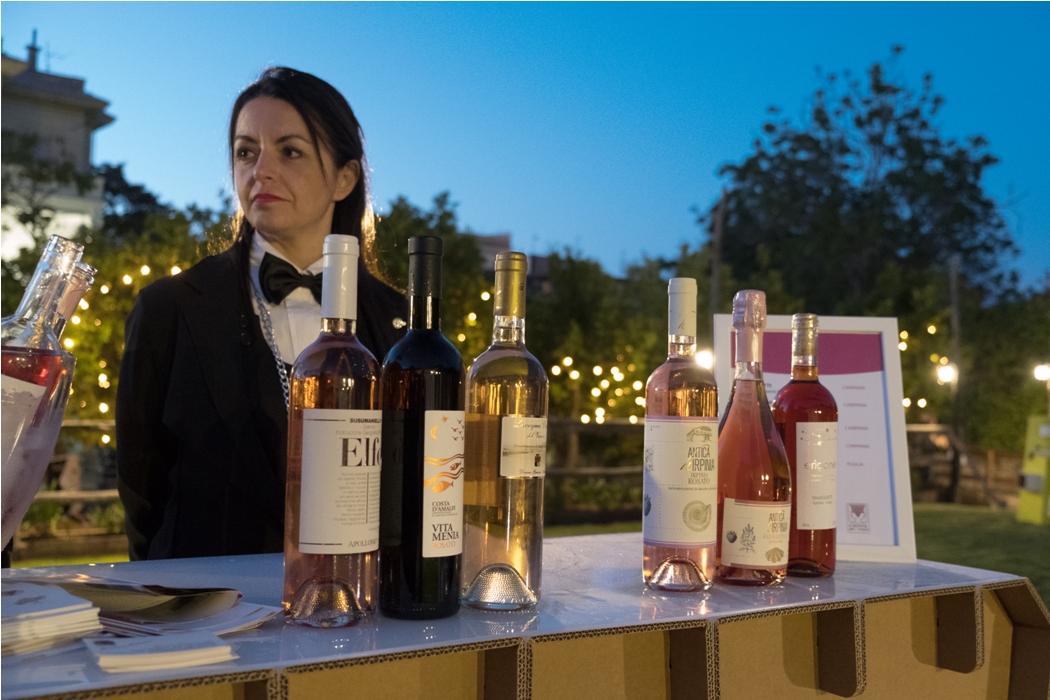 Sorrento Rosé: successo dei vini rosati