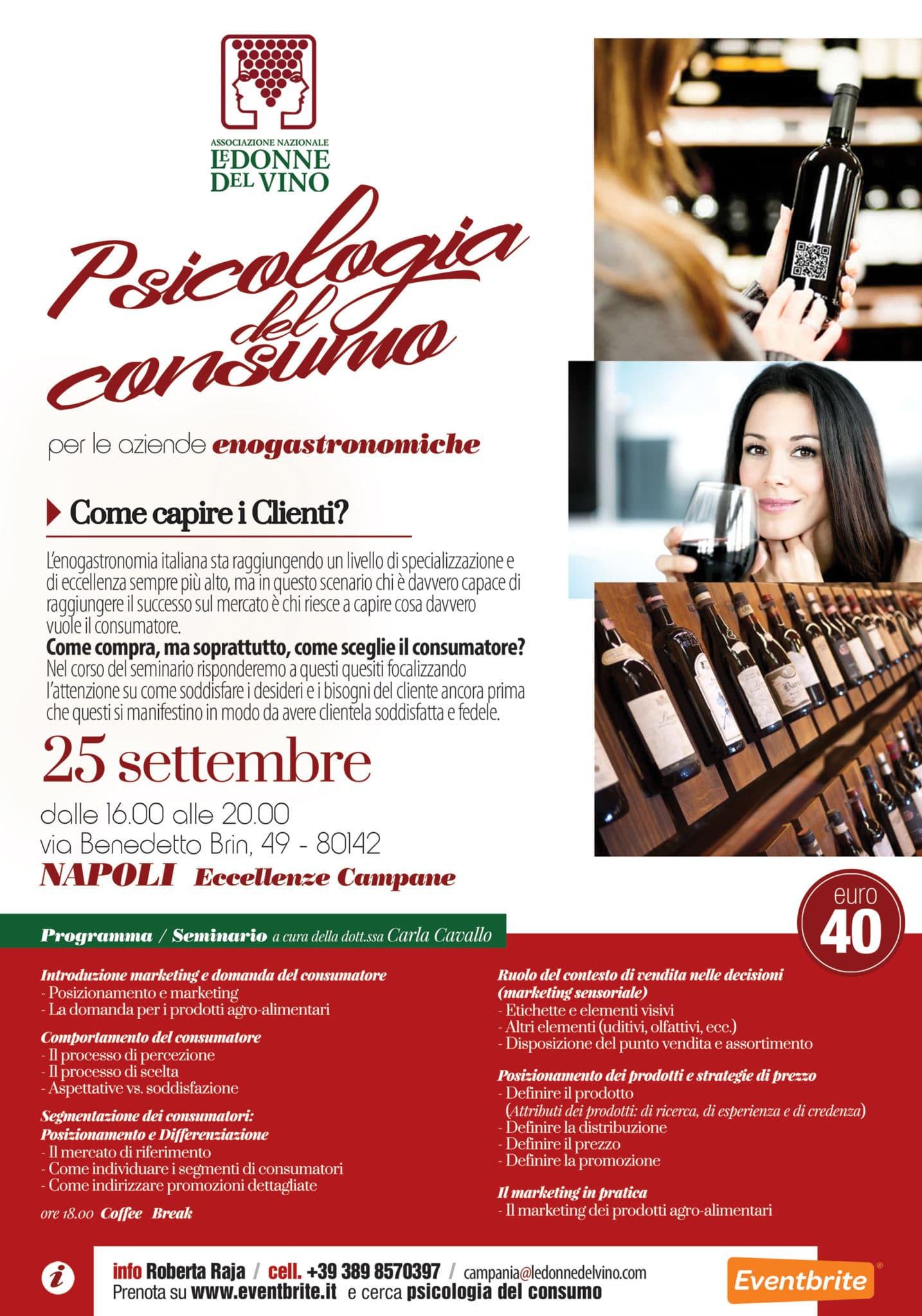 Psicologia del consumo, un workshop a Napoli