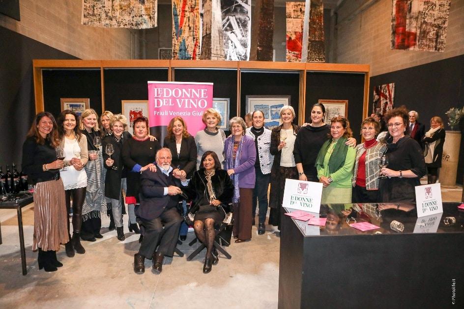 Celiberti: le Donne del vino e il grande artista