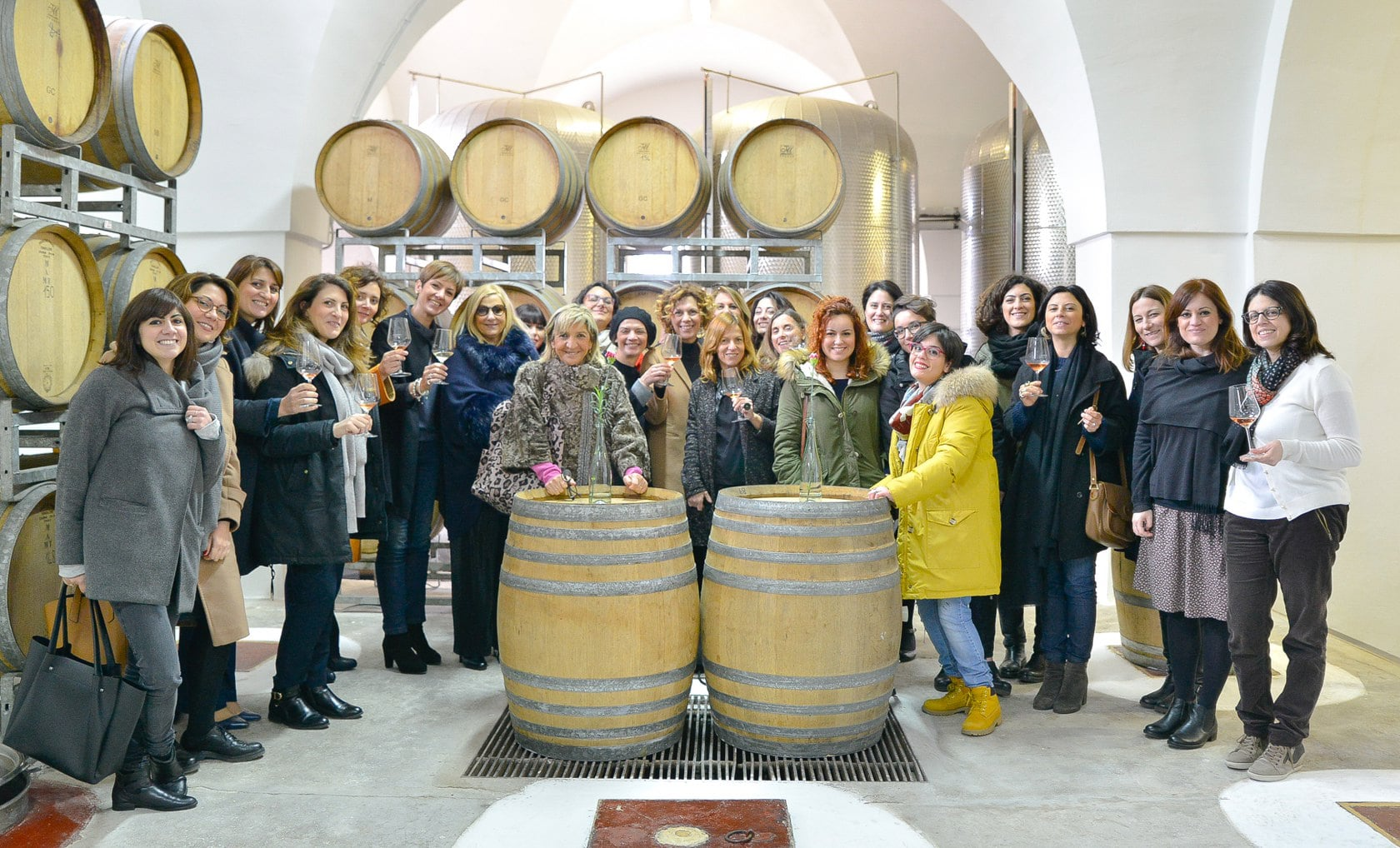 Festa delle Donne del Vino in Puglia Garofano Vigneti e Cantine 3 marzo 2018