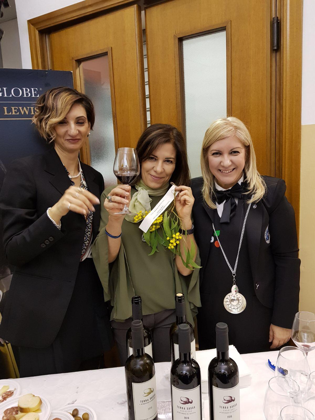 Festa delle Donne del Vino  Sardegna  Cine Club Greenwich 3 marzo 2018
