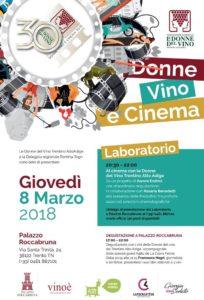DONNE VINO E CINEMA     Trento