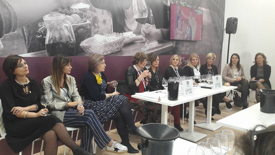 Vinitaly 2018 delle Donne del Vino della Campania