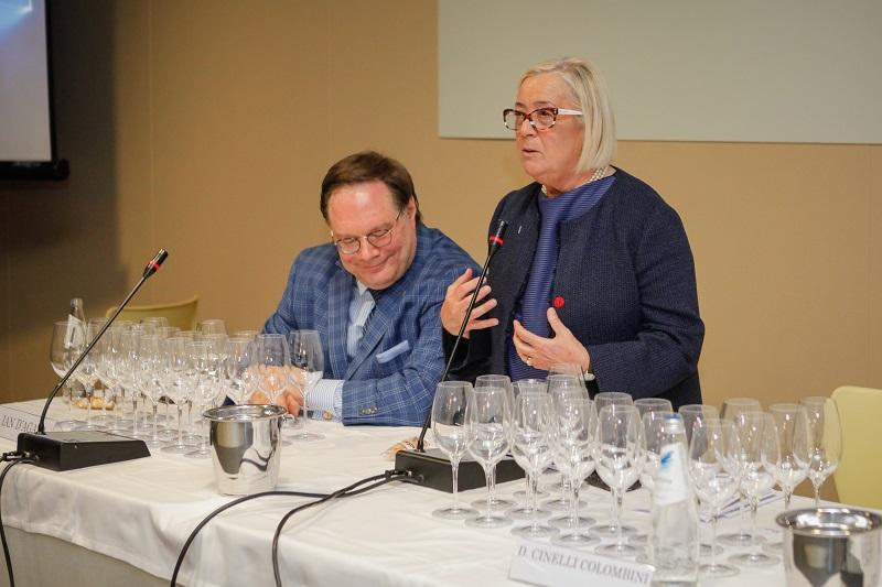 Donatella Cinelli Colombini e Ian D'Agata