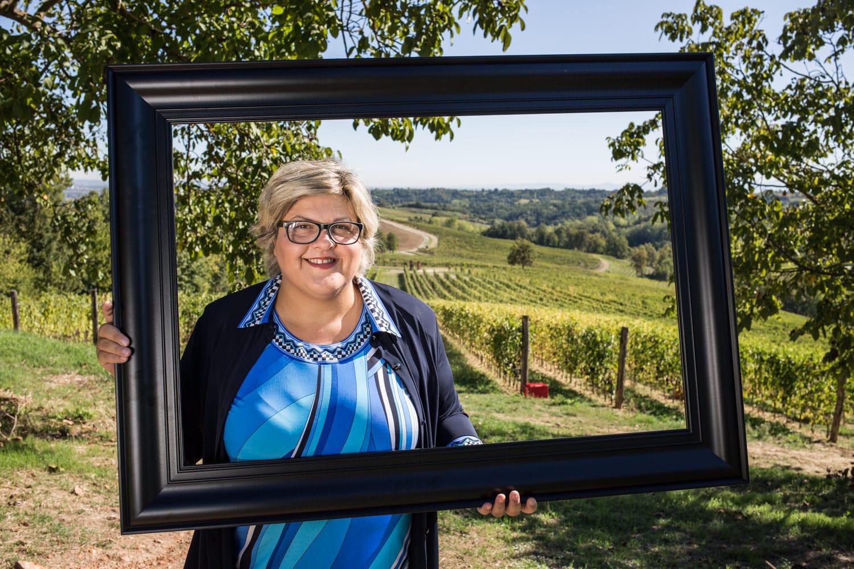 Raffaella Bologna e il vino al femminile: La Barbera