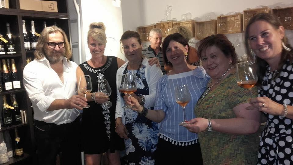 Aperitivo Rosè con le Donne del Vino del Friuli Venezia Giulia 24 luglio 2018