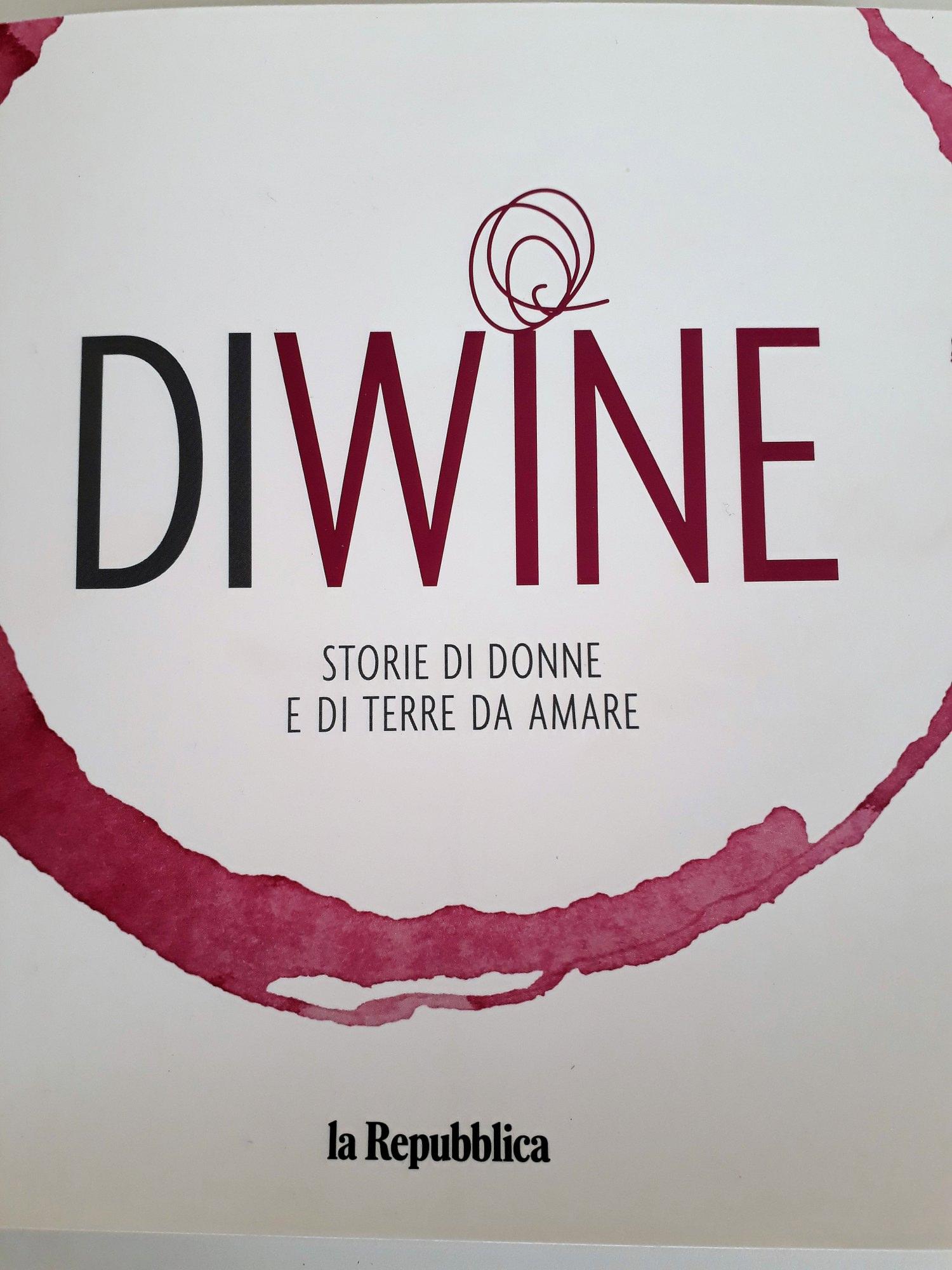 Vinitaly 2018 presentazione  DIWINE, la nuova guida al vino di Repubblica con le Donne del Vino
