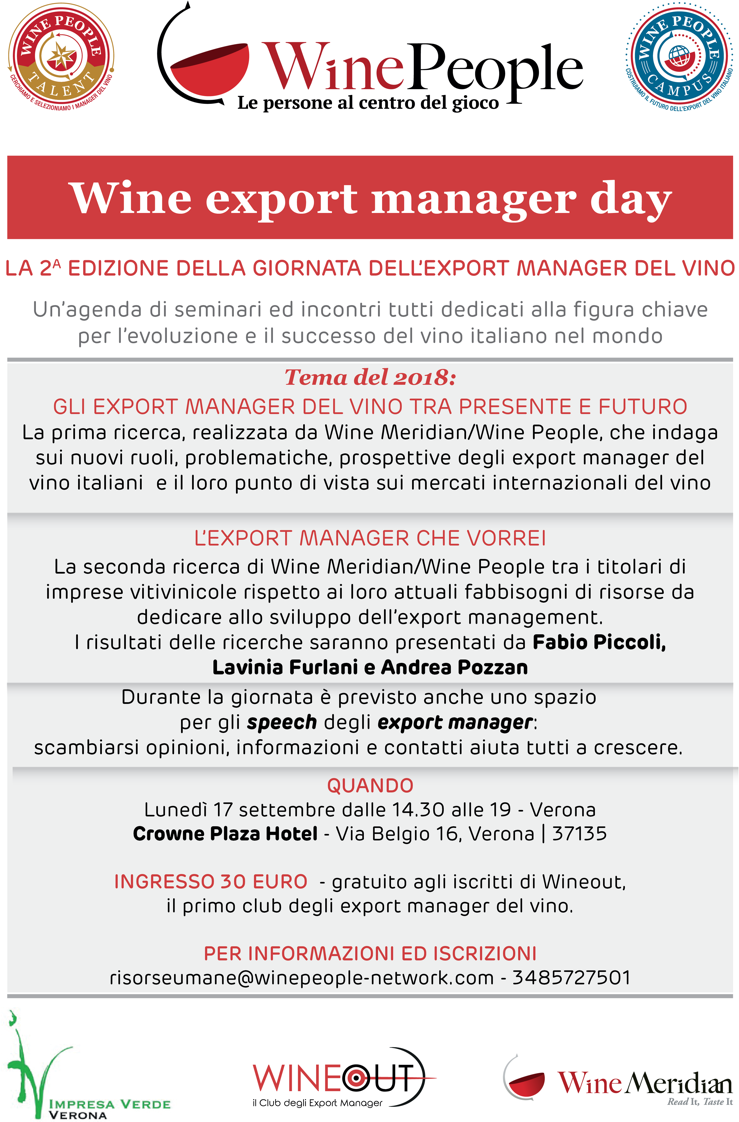 Wine Export Manager Day 2018